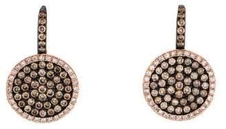 KC Designs 14K Tres Chic Diamond Drop Earrings