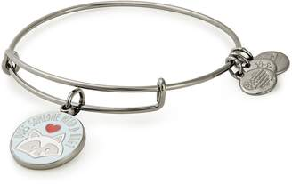 Alex and Ani (アレックス アンド アニ) - Alex and Ani 'Elf' Does Someone Need a Hug Adjustable Wire Bangle