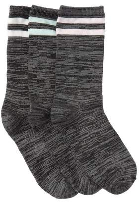 Jessica Simpson Varsity Striped Polo Socks - Pack of 3