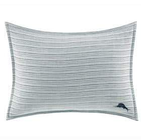 Tommy Bahama Raw Coast Bedding Textured Woven Pillow