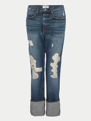 Frame Le Oversized Cuff Jean