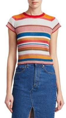 Rag & Bone Katie Striped Tee