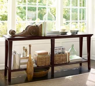 Pottery Barn Metropolitan Long Console Table