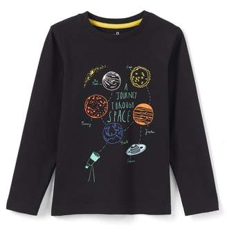 La Redoute Collections Boys Space T-Shirt, 3-12 Years