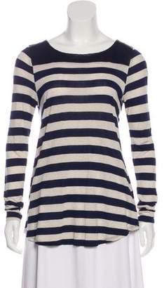 Ella Moss Striped Long Sleeve Top