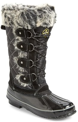 Women's Khombu Waterproof Lace-Up Boot $64.99 thestylecure.com