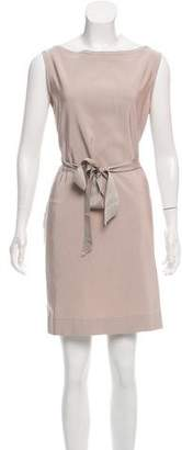 Lanvin Sleeveless Mini Dress