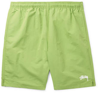 Stussy Stock Water Slim-Fit Shell Shorts