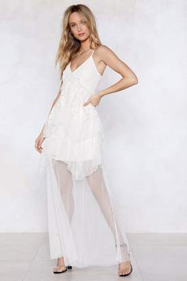 Nasty Gal Full of Mesh Ideas Lace Dress