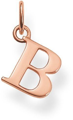 Thomas Sabo Special addition b initial pendant