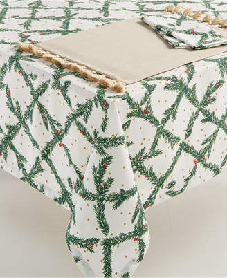 "Kate Spade Pine Needles 60"" x 84"" Tablecloth"