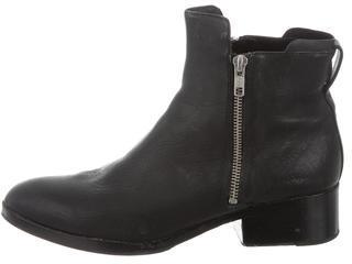 3.1 Phillip Lim3.1 Phillip Lim Leather Round-Toe Ankle Boots