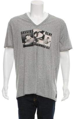 Dolce & Gabbana Cassius Clay Graphic Print T-Shirt
