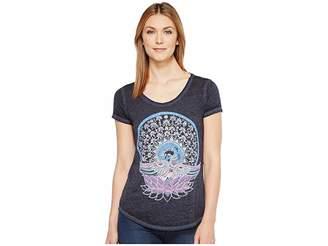 Lucky Brand Swan Tee Women's T Shirt
