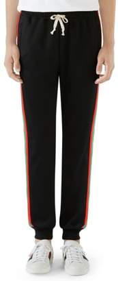Gucci Web Stripe Sweatpants