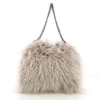 0e92cea410fcb Stella McCartney Stella Mc Cartney Falabella Grey Faux fur Handbag