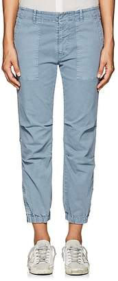 "Nili Lotan Women's ""French Military"" Cotton-Blend Crop Pants"