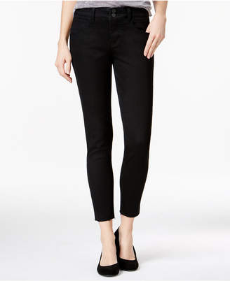 Rewind Juniors' Techno Tuck Cropped Skinny Jeans $49 thestylecure.com