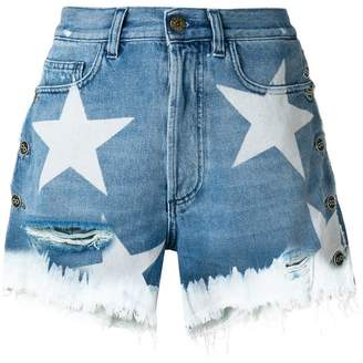 Faith Connexion star print shorts