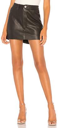 One Teaspoon Vanguard Leather Skirt