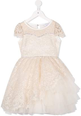 MonnaLisa floral lace dress