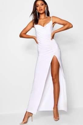 3ad8dd7373c boohoo White Maxi Dresses - ShopStyle