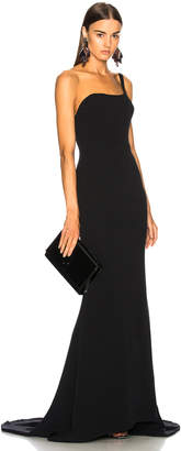 Oscar de la Renta for FWRD One Shoulder Gown