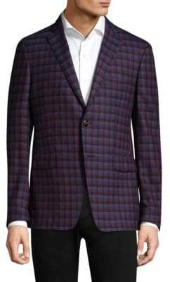 Etro Check Wool Jacket