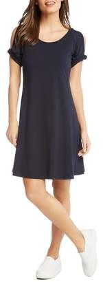 Karen Kane Cold Shoulder Swing Dress