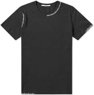 Givenchy Slim Fit Tape Detail Tee