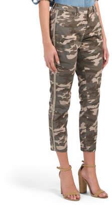 Evans Camo Skinny Jeans