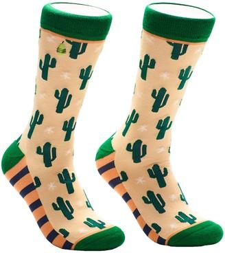 Woven Pear Pattern Theme Socks