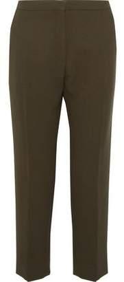 Marni Cropped Wool Straight-Leg Pants