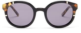 Ted Baker Women's Full Rim Round Acetate Sunglasses