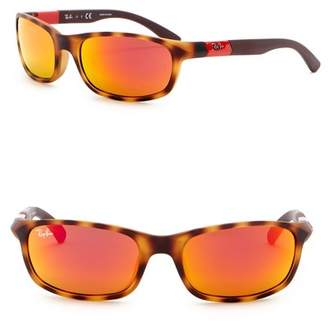 Ray-Ban 50mm Rectangle Sunglasses (Little Kid)