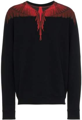 Marcelo Burlon County of Milan wings crew neck sweatshirt