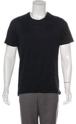 eda51eee651a5 Bottega Veneta Grid Print Short Sleeve T-Shirt