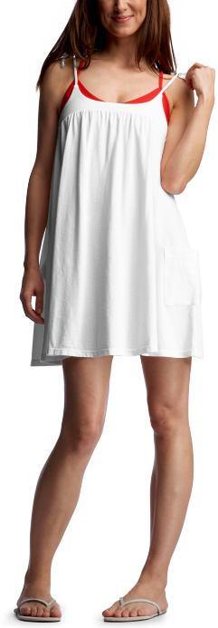 Shirred pocket dress