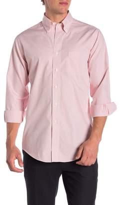 Brooks Brothers Mini Grid Slim Fit Dress Shirt