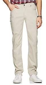 Marco Pescarolo Men's Stretch Cotton-Silk Five-Pocket Pants-Gray