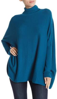 Joseph A Oversized Boxy Long Sleeve Turtleneck Sweater