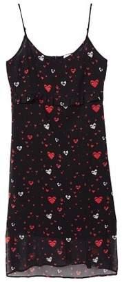 MANGO Printed chiffon dress