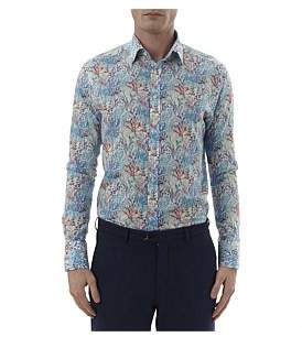Simon Carter Liberty Reef Print Single Cuff Shirt