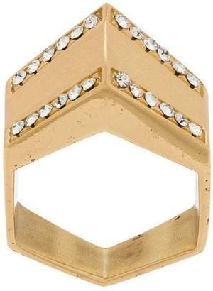 Federica Tosi pyramid ring