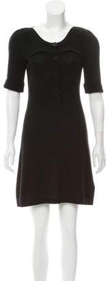 See by Chloe Virgin Wool-Blend Dress