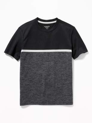 Old Navy Go-Dry Color-Blocked Mesh Tee for Boys