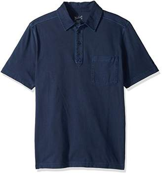 Woolrich Men's Double Forks Modern Fit Polo