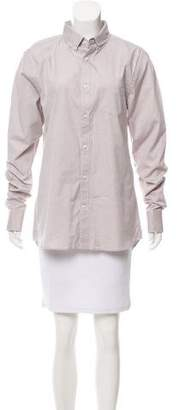 Frame Long Sleeve Button-Up Top w/ Tags