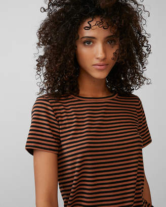 Express One Eleven Striped Slim Tee