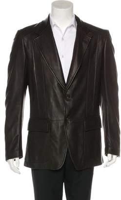 Gucci Leather Sport Coat